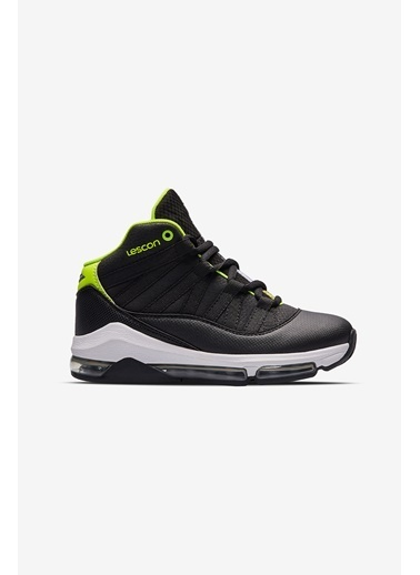 Lescon Junior Bounce 2 Siyah Çocuk Basketbol Ayakkabısı Siyah